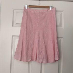 Banana Republic Linen Skirt Size 2
